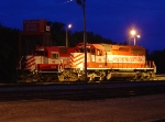 Twilight shot of WSOR 2056 and 4008